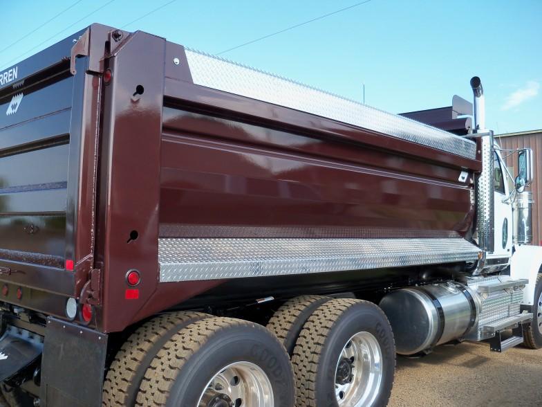Light Weight Steel Dump Bodies - Warren Truck and Trailer