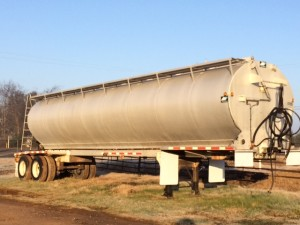 used bulk feed trailer for sale
