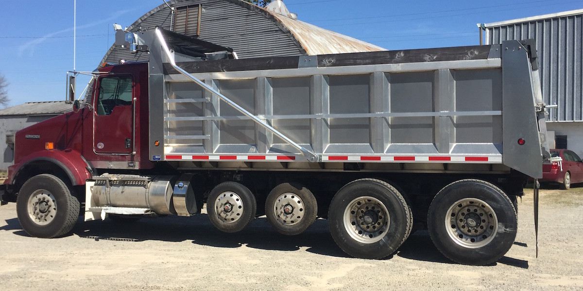 18.5 ft Aluminum Dump Body