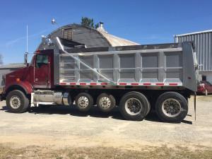 18.5 ft aluminum dump body