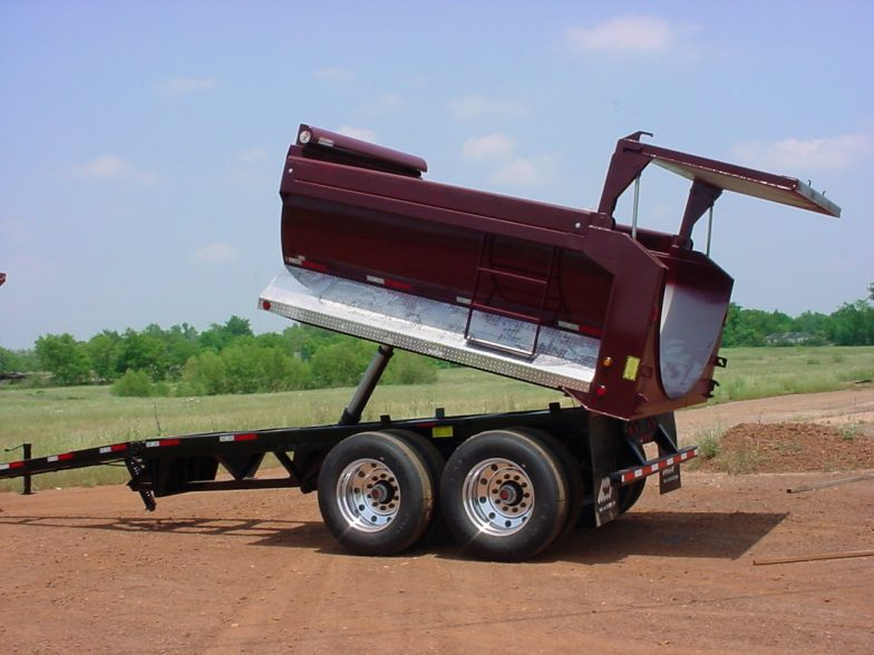 Warren Pup Trailer High Lift Tailgate