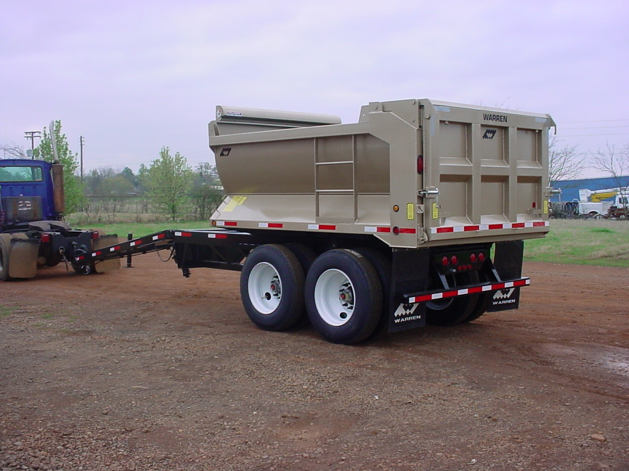Warren Half Round Pup Trailer
