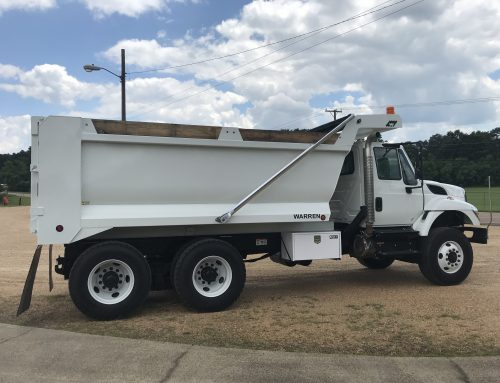 Sloped Front Demolition Dump Body – Featured Unit
