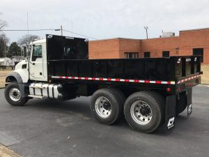 municipal dumping flatbed